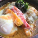 【新メニュー】東京|伊豆あまからや 高円寺店|こんがりと香ばしい焼きチーズカレー&野菜エッグチーズカレー